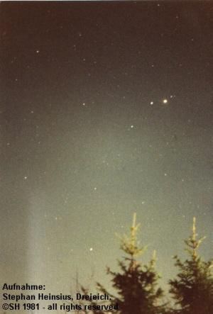 Jupiter und Saturn im Sternbild Jungfrau